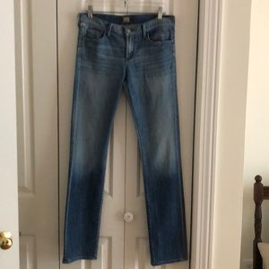 Citizens of humanity straight leg jeans size 29